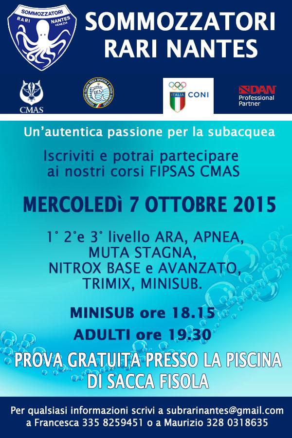 newsletter INIZIO CORSI OTT. 2015